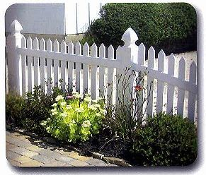 picket fence styles vinyl fence