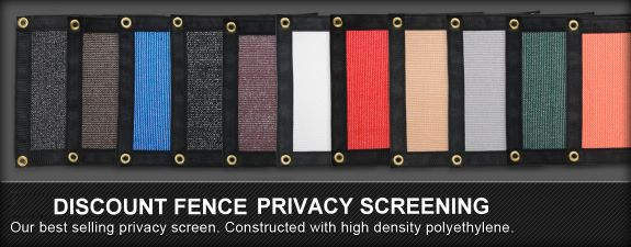 privacy screening colors